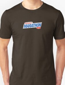 Retro Marathon (not Snickers, kids) chocolate bar logo: only 3p Unisex T-Shirt