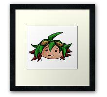 Chibi Yuuya Head Framed Print