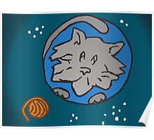 ZEEK visits Cat Planet Poster