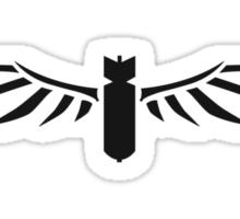 Winged Bomb Sticker