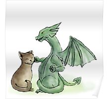 Furry Kitty, Scaly Kitty Poster