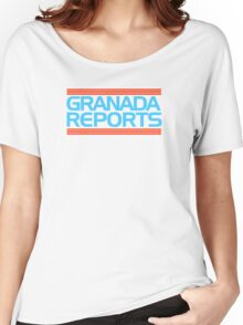 Granada Reports logo 1985-ish Women's Relaxed Fit T-Shirt