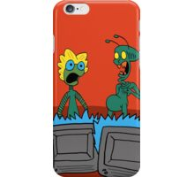 ZEEK and Nurdy visit (Planet) TVs iPhone Case/Skin