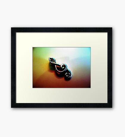 Treble Clef Framed Print