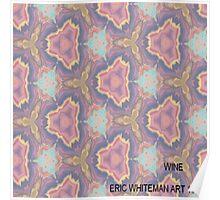 ( WINE  )   ERIC  WHITEMAN  ART   Poster