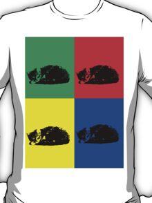 Pop Art Tabby Cat T-Shirt