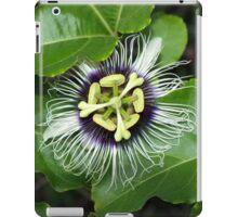 Yellow Passion Fruit Flower iPad Case/Skin