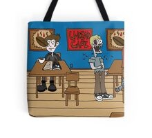 Vampires at the UnDead Cafe Tote Bag