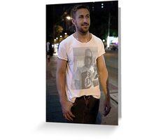Ryan Gosling Wear Macaulay Culkin Wearing Ryan Gosling Wearing Macaulay Culkin Greeting Card