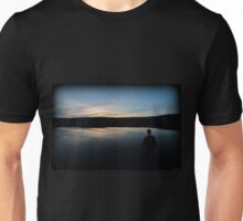 Sunset Minsi Fishing Unisex T-Shirt