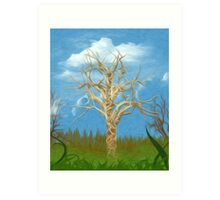 The Tree Oil Painting Art Print