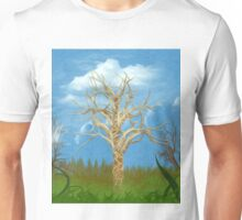 The Tree Oil Painting Unisex T-Shirt