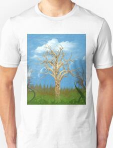 The Tree Oil Painting T-Shirt