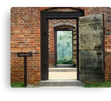 Exit Only Canvas Print