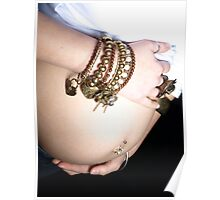 belly with bling! Poster