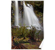 Hidden Creek Falls Upstream Poster