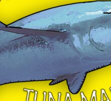 BORN TO FISH - TUNA MADNESS Sticker