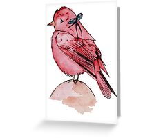 Little Red the First  Greeting Card