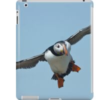 Puffin flying iPad Case/Skin