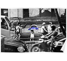 Umbrella in Ubud Poster