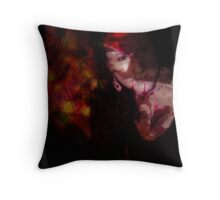in secrecy Throw Pillow