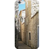 Narrow street iPhone Case/Skin