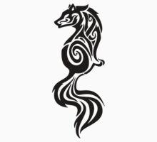 Fox Tattoo Design by SapphireIce88