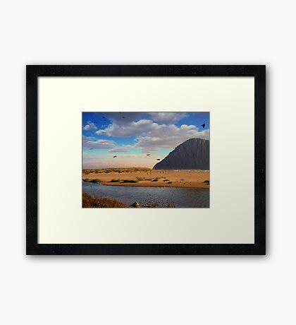 Moro Rock Framed Print