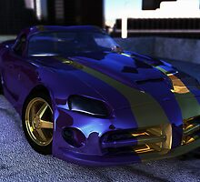 Dodge viper SRT-10 coupe by njumer