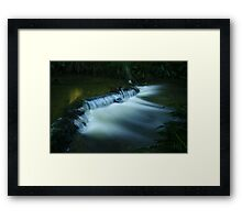 Golden Glow... Framed Print