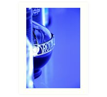 Royal Blue Art Print