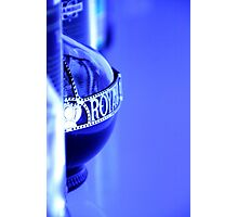 Royal Blue Photographic Print