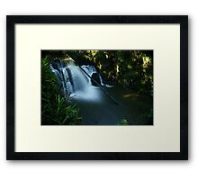 Lilydale Falls from above Framed Print