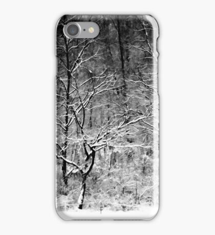 Winter Snow Trees iPhone Case/Skin