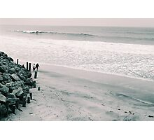 Walk on the Beach Photographic Print
