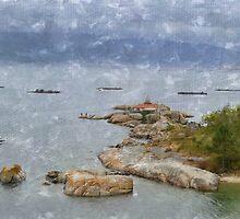 O faro da Illa de Arousa by rentedochan