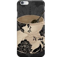 Vintage Cafe II iPhone Case/Skin