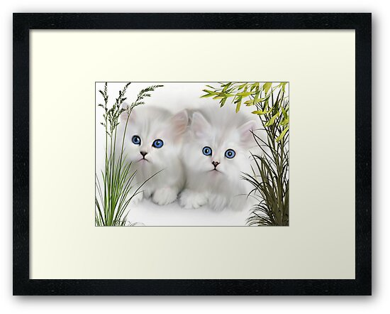 Kittens ..  by Elaine  Manley