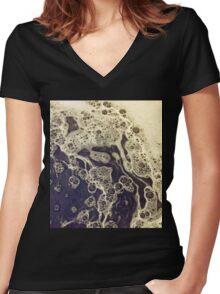 An Ocean Women's Fitted V-Neck T-Shirt