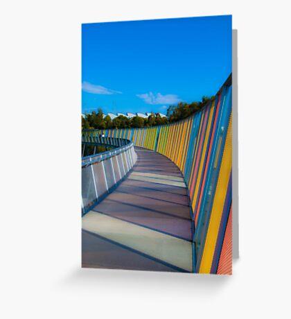 Rim Walk Greeting Card