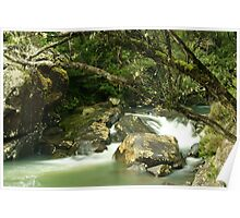 Pipers River Cascade Poster