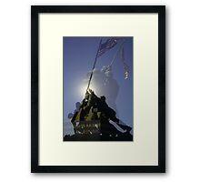 Iwo Jima Memorial - Arlington Virginia Framed Print
