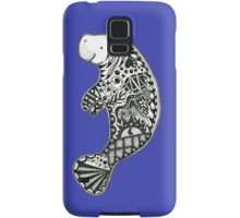 Manatee blue Samsung Galaxy Case/Skin