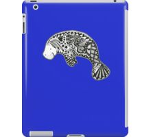 Manatee blue iPad Case/Skin