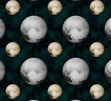 Pluto Planet pattern by EthosWear