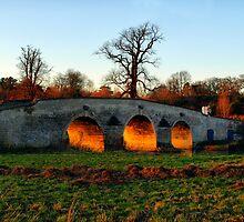 Burning Arches by saxonfenken