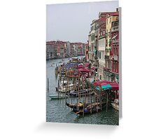 The Colours of Venice Greeting Card