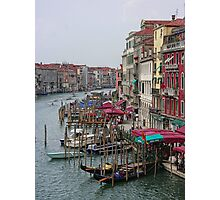 The Colours of Venice Photographic Print