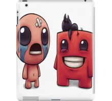 Isaac and Super Meat Boy iPad Case/Skin