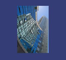 Modern blue glass wall of skyscraper in Buenos Aires, Argentina Unisex T-Shirt